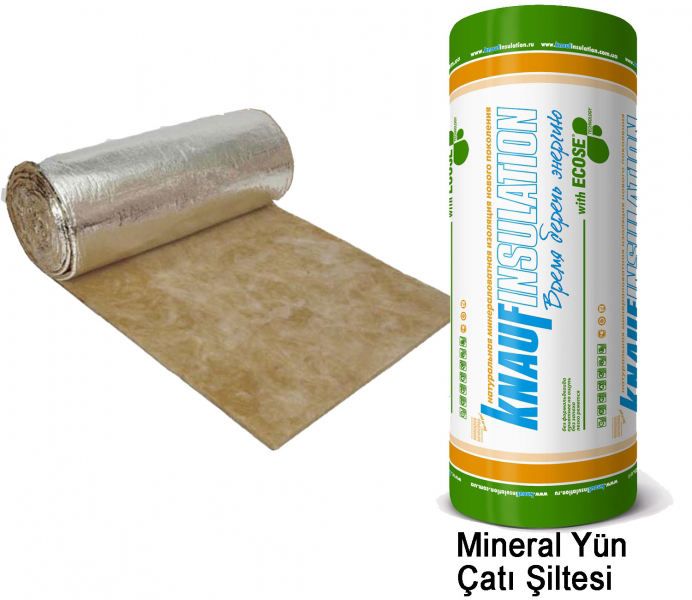 Alüminyum Folyolu Çatı Şiltesi (8cm) (14 kg/m3)-6943