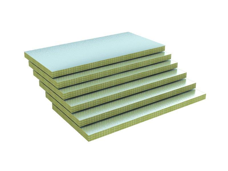 Alüminyum Folyolu Duvar Levhası (8cm) (22 kg/m3)-0
