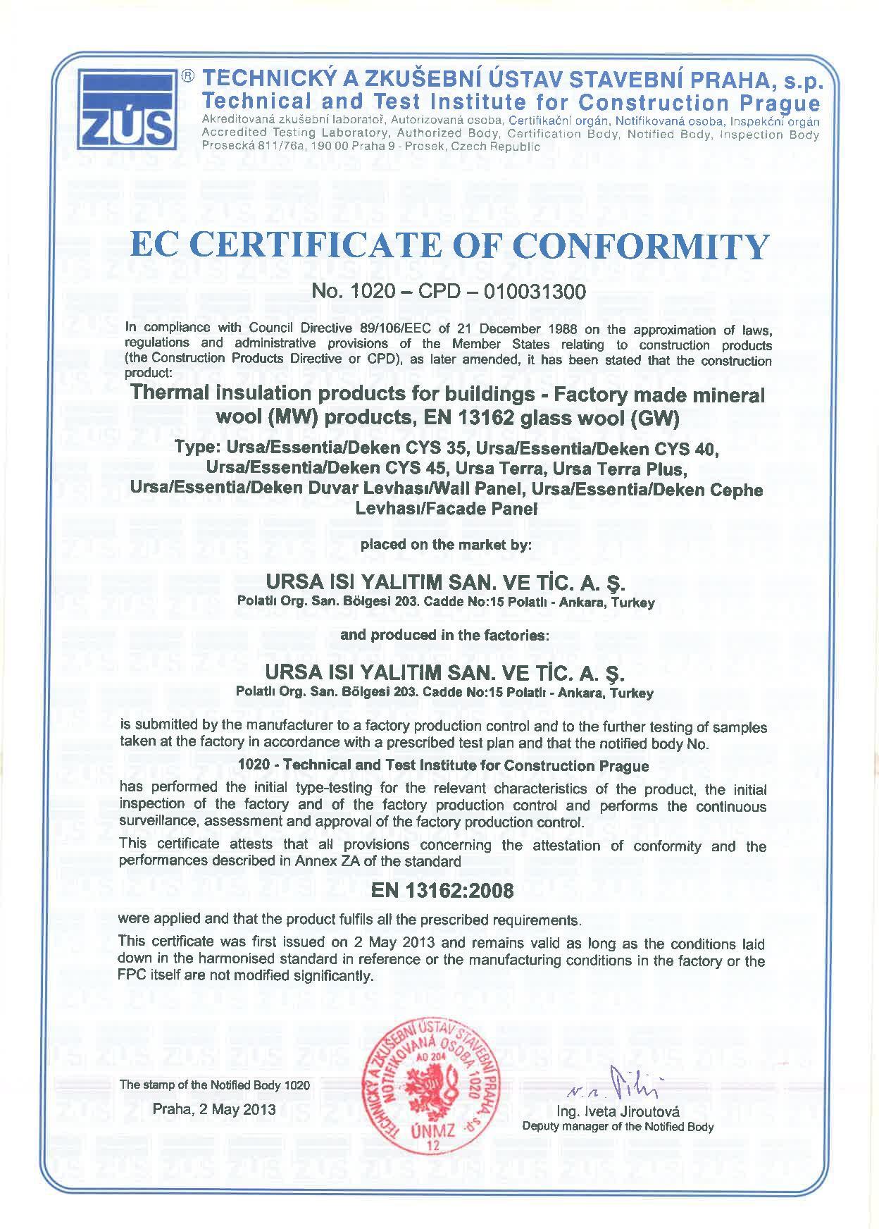 Alüminyum Folyolu Klimapan Levha (5cm) (50 kg/m3)-5531