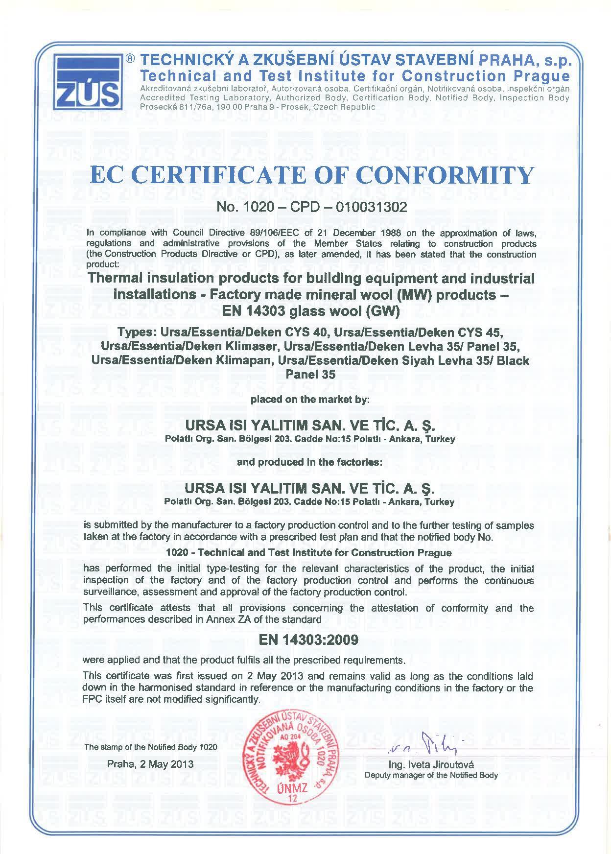 Alüminyum Folyolu Çatı Şiltesi (12cm) (14 kg/m3)-5442