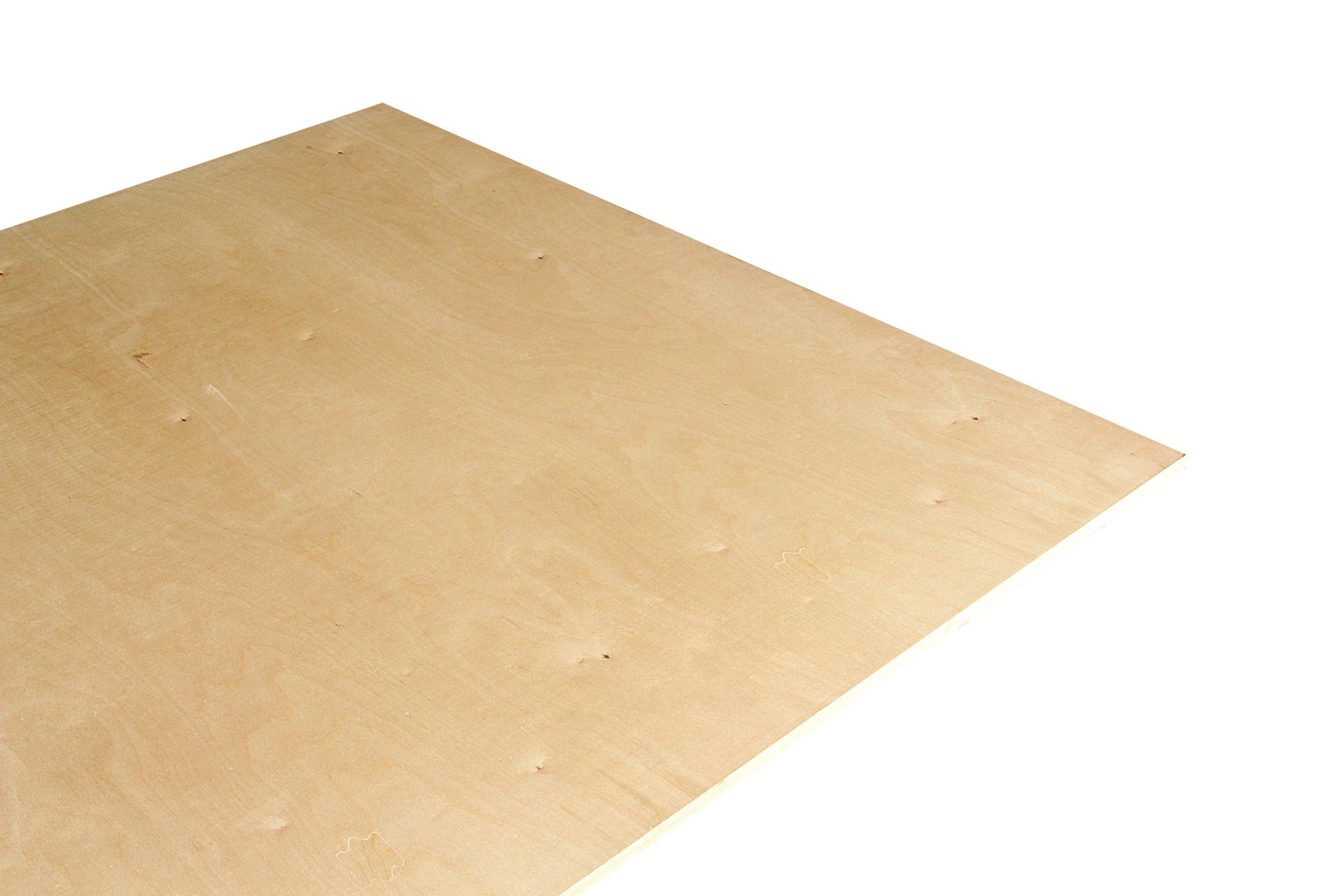 Kontrplak - Rus Birch MR Tutkallı (15mm) - 1525x1525mm-4677
