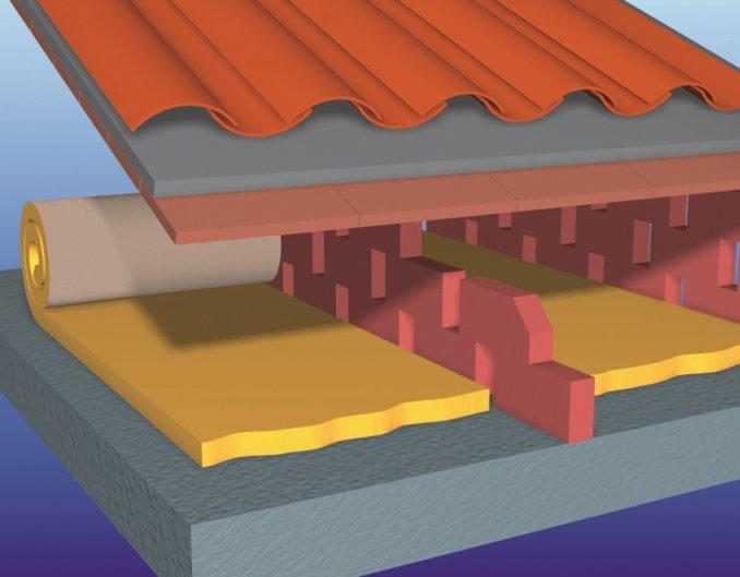 Çatı Şiltesi (10cm) (11 kg/m3)-4585