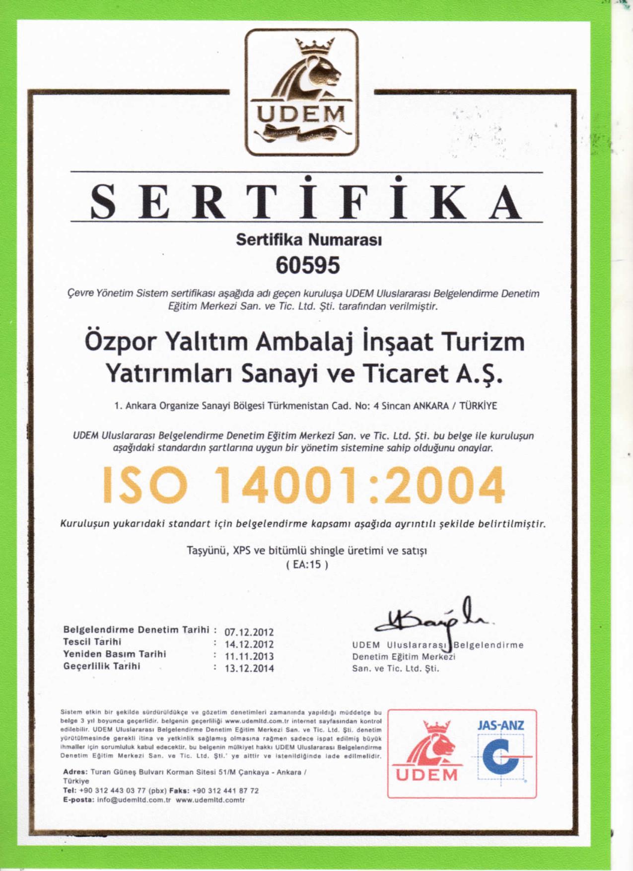 Alüminyum Folyolu Dış Cephe Levhası (3cm) (50 kg/m3)-5260