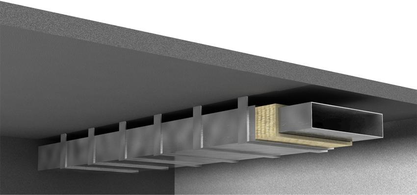 Alüminyum Folyolu Klima Levhası (2.5cm) (60 kg/m3)-550