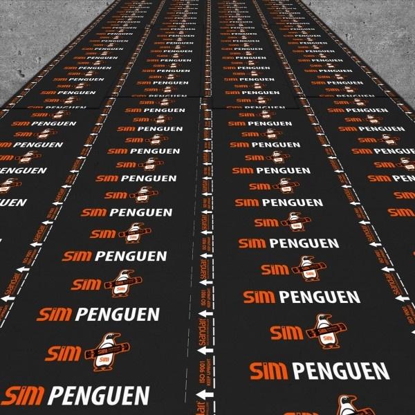 Penguen SP4000 4mm Alüminyum Folyolu Polyester Keçe Taşıyıcılı Membran