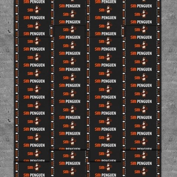 Penguen SC3000 3mm Alüminyum Folyolu Cam Tülü Taşıyıcılı Membran