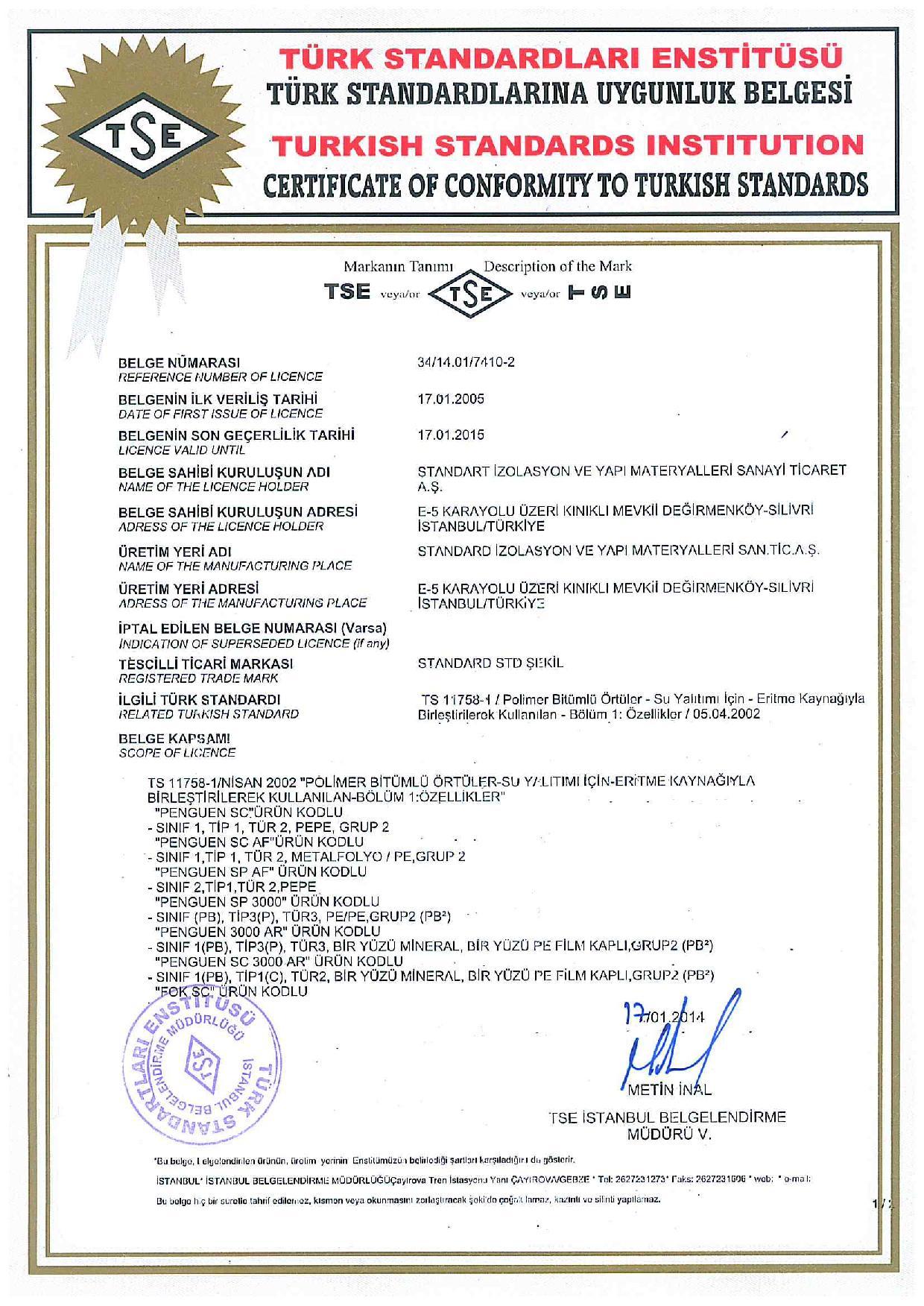 Penguen Alüminyum Folyolu SP3000 AF (3mm)-5829