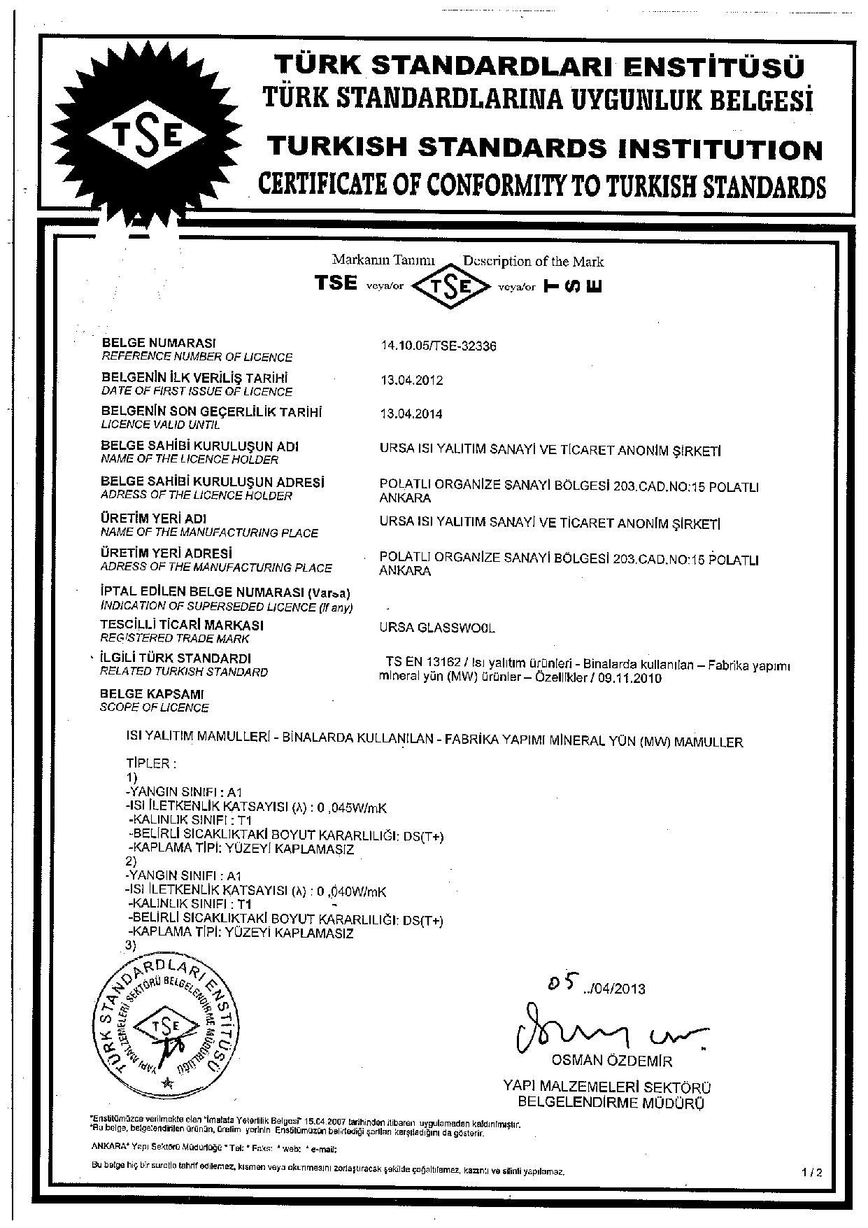 Alüminyum Folyolu Çatı Şiltesi (12cm) (14 kg/m3)-5441