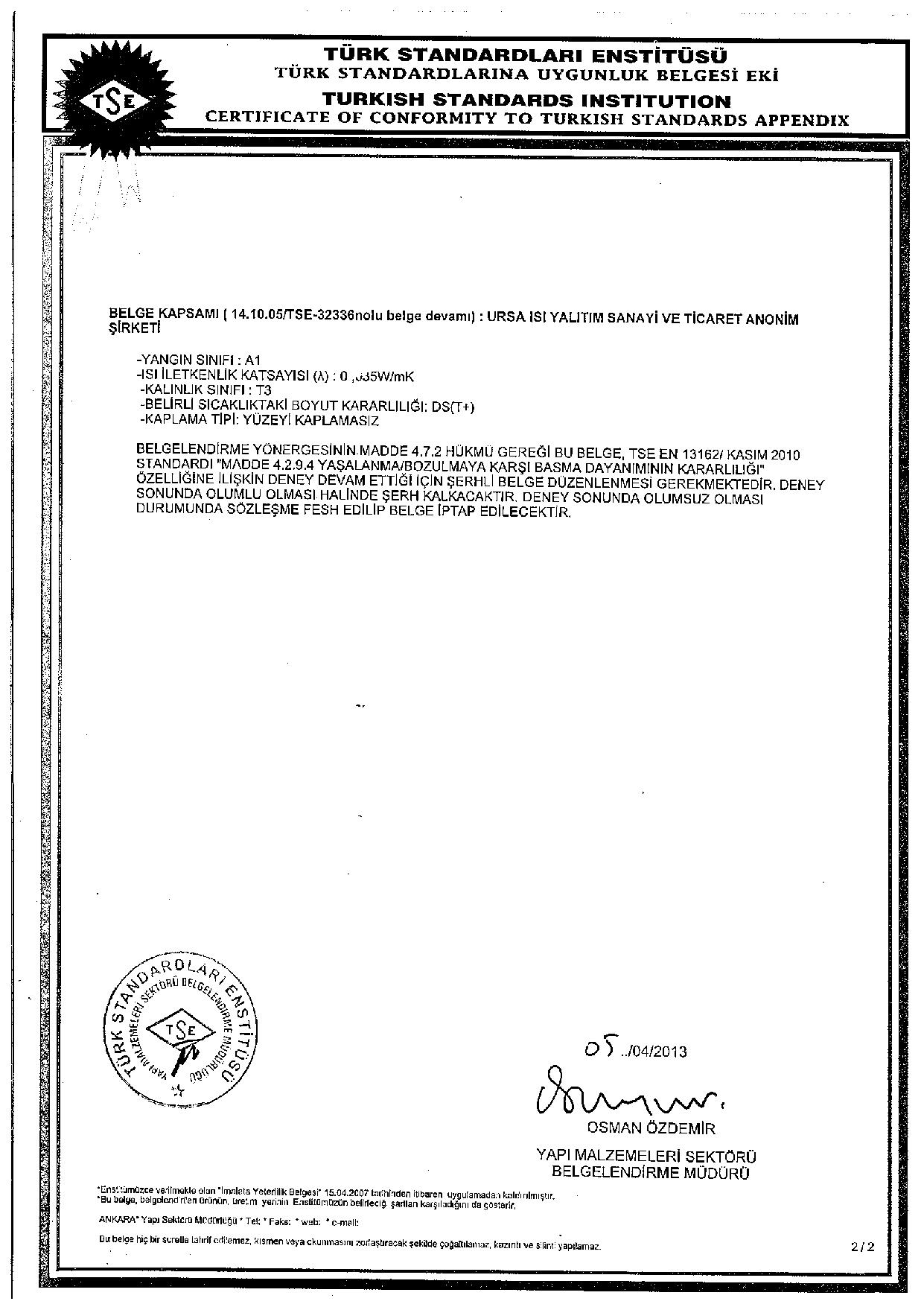 Alüminyum Folyolu Klimapan Levha (5cm) (50 kg/m3)-5529