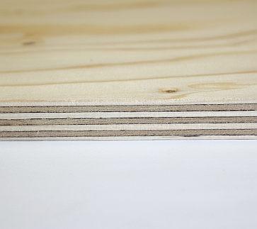 Kontrplak - WISA-Spruce (12mm) - 125x250cm (plywood)