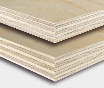 Kontrplak - WISA-Spruce (9mm) - 125x250cm (plywood)