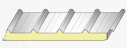 Boyalı Sac Panel 6m