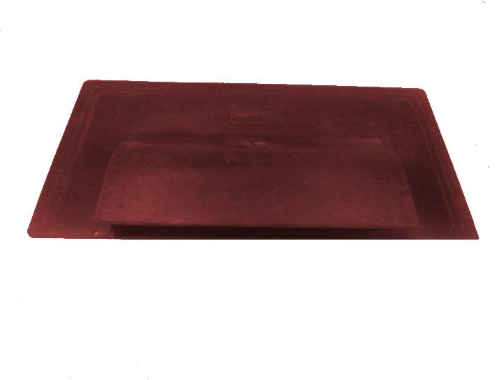 Shingle Havalandırma Bacası (Düz) (Kırmızı)-0