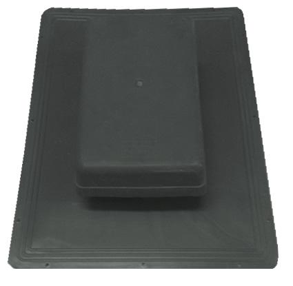 Shingle Havalandırma Bacası (Kapaklı) (Siyah)-0