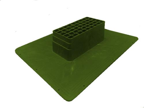 Shingle Havalandırma Bacası (Kapaklı) (Yeşil)-5069