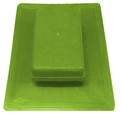 Shingle Havalandırma Bacası (Kapaklı) (Yeşil)-0