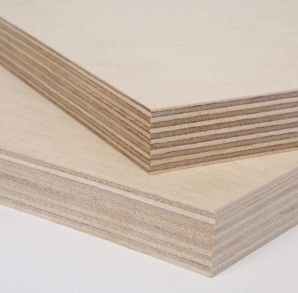 Filmsiz MR Tutkallı 3mm Plywood